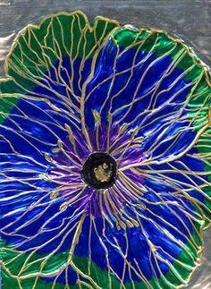 Flower in Georgia's style, grade 8