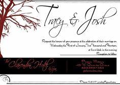 I do wedding invites too!