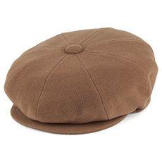 71b5fae6f829e Bailey Hats Galvin Wool Newsboy Cap - Camel Bailey Hats