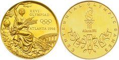 Olympic gold medal - 1996 Atlanta, USA