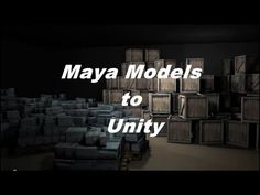 Maya To Unity Tutorial: How to Import Autodesk Maya Models Into the Unity Game Engine.