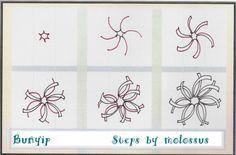 zentangles for beginners   Zentangle Patterns For Beginners   Life Imitates ...   Paper inspirat ... by jessica.grimstad