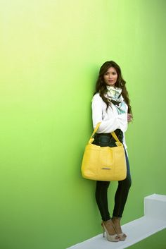 Mimosa Ostrich Leather Odette Bag #jennifermiddletonbags #luxurydesignerbags www.jennifermiddletonbags.com The Ostrich, Beautiful Lines, Creating A Brand, Photoshoot, Elegant, Chic, Leather, Bags, Beauty