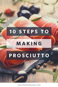 Get the 10 steps to how to make prosciutto di parma  #italy #italianfood #foodie #italianrecipes #glutenfree #paleo #prosciutto Italian Dishes, Italian Recipes, Italian Foods, How To Make Prosciutto, Pork Leg, Wine Recipes, Meat Recipes, Healthy Dishes, Italy