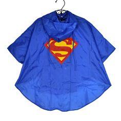 Baby kids superman batman spiderman boys girls raincoat for children school