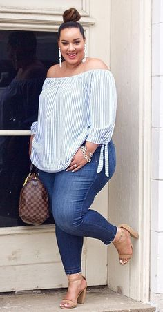 Plus Size Summer Outfits. Plus Size Summer Outfits. 47 Casual Plus Size Summer Fashion Ideas for Beauty Women Vis Wed Curvy Girl Fashion, Look Fashion, Plus Fashion, Womens Fashion, Fashion Ideas, Fashion Hair, Fashion Clothes, Curvy Fashion Plus Size, Fashion Outfits