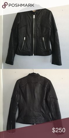 Michael by Michael Kors Quilted Leather Jacket Used but still in great condition. I don't remember the exact price when I bought it but it was somewhere around $500. MICHAEL Michael Kors Jackets & Coats