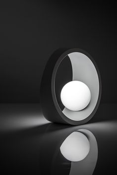 Products 2015 - Tenue Small - Table lamp - Aluminium and glass - LED - Available in White and Steel color finish - Beautiful Style for interior - A decor piece suitable for master bedroom , desk, cabinet... - Design by ILIDE (www.ilide.it)