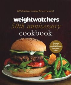 Weight Watchers 50th Anniversary Cookbook: 280 Delicious Recipes for Every Meal by Weight Watchers, http://www.amazon.com/dp/B009E8F0X6/ref=cm_sw_r_pi_dp_BlZ9rb0Q221Z1