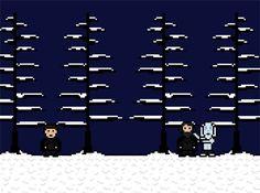 White Walker beheads a ranger of the Night