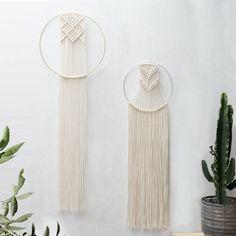 Macrame Dreamcatcher - Macrame Wall Hanging - Macrame Wall Art - Macrame Patterns - Wall Tapestry - Circle Tapestry - Home Decor - KARA
