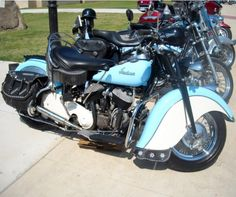 """""""Rider"""" -'47 Indian Chief Motorcycle"""