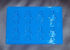 Silicone Lego Minifigure Ice tray candy soap mold by shescrafty10, $11.99
