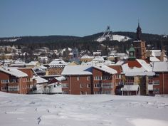 Falun, Sweden. I wish I could go back and visit someday...
