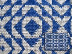 Узорчатое двойного плетения Образец 2