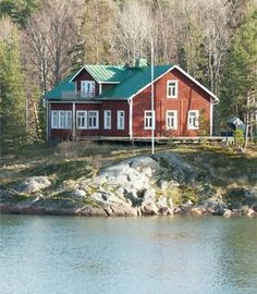 Scola - Kuvat Seaside Wedding, Finland, Places To Visit, Cabin, House Styles, Home Decor, Decoration Home, Cabins, Cottage