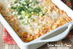 Italian Macaroni & Cheese I Mommy Hates Cooking #PantryInsiders #Sponsored
