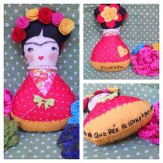 imagens de frida boneca artesanal - Pesquisa Google