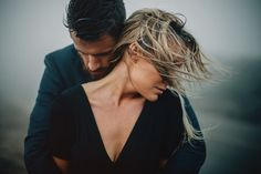 Dramatic Pre-Wedding Session at Point Reyes | Photo by Gabe McClintock