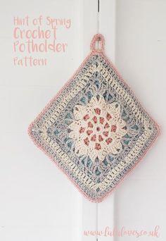 @ Lululoves - Crochet Potholder - Free Pattern