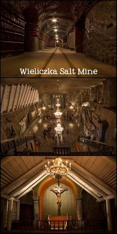 Poland's largest tourist attraction, sits 100 meters below the ground. And it's huge. Beyond the tourist route, its actual depth is 327 meters and is almost 300 kms long. Work began in the salt mine in the 13th century, and it provided table salt up until just 6 years ago.  ~ Click the photo to find out how to visit and photograph the underground Wieliczka Salt Mine in Poland!