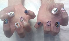 Get In The Olympic Spirit With Gold Medal-Worthy Olympic Nail Art (PHOTOS)