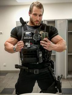 imageYou can find Muscle men and more on our website. Men In Tight Pants, Sexy Military Men, Sexy Tattooed Men, Just Beautiful Men, Hot Cops, Cowboys Men, Scruffy Men, Rugby Men, Hunks Men