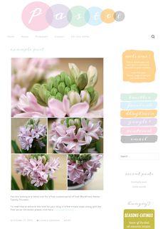 Free WordPress Thwenty Thirteen theme customization – Pastel