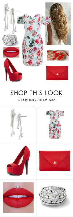 """""""Beautiful"""" by paoladouka on Polyvore featuring CZ by Kenneth Jay Lane, Charlotte Russe, Vivienne Westwood and Jeffree Star"""