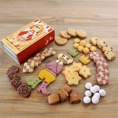 童話クッキー 王様の秋ファッション