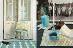 Brita Sweden is a family business with a strong tradition of textile production, they  produce organic fabric, rugs, kitchen accessories,  and other interior items.