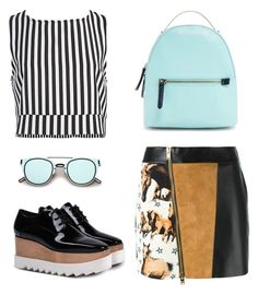 """simply complicated"" by ell-richards ❤ liked on Polyvore featuring FAUSTO PUGLISI, Sans Souci, ZeroUV, STELLA McCARTNEY, Forever 21, StellaMcCartney, forever21, FaustoPuglisi, zerouv and SansSouci"