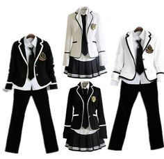 children's school uniform clothing and long sleeved chorus of primary school students reading British japanese school uniforms Casual Cosplay, Cosplay Outfits, Anime Outfits, Cool Outfits, Fashion Outfits, School Uniform Fashion, Japanese School Uniform, School Uniforms, Drawing Anime Clothes