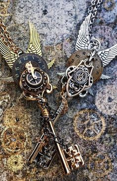 ...steampunk keys...