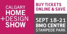 Visit us at the 2014 Calgary Home & Design Show – Sept 18-21 at the BMO Centre.