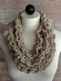 free printable scarf patterns | ... easy to crochet infinity scarf patterns can be made in one evening