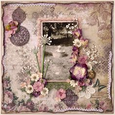 Take a look at this beautiful layout that we found on Tracy Funk's blog. Love how she used the Timeless Collection from Blue Fern Studios!