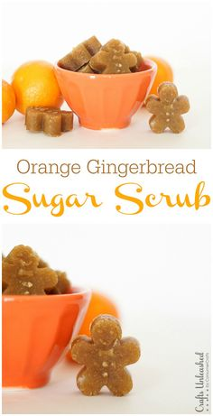 This orange gingerbread sugar scrub recipe is so simple to make and is great for a one-time use exfoliating scrub. They also make the perfect holiday gift!