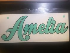 Personalized Decal by gkdesignstudio on Etsy