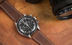 Crown & Buckle Black Label Season 3 Berit on an Omega Speedmaster Professional Big Watches, Best Watches For Men, Summer Accessories, Fashion Accessories, Omega Speedmaster Watch, Crown And Buckle, Speedmaster Professional, Mens Fashion Week, Men's Fashion