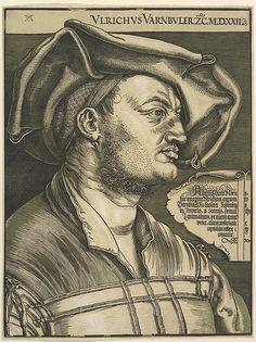 Albrecht Dürer | Portrait of Ulrich Varnbuler | The Met