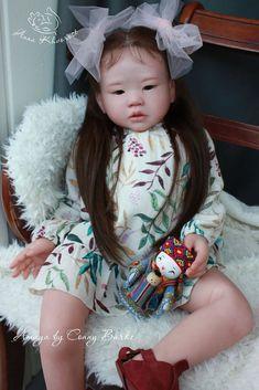Amaya Reborn Vinyl Toddler Doll Kit by Conny Burke Reborn Child, Bb Reborn, Reborn Toddler Girl, Reborn Dolls For Sale, Reborn Doll Kits, Reborn Baby Dolls, Lifelike Dolls, Realistic Dolls, Reborn Dolls Silicone