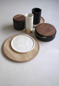Michaël Verheyden | Serveware | Home | Wood & Marble | Design