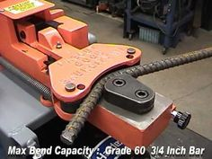 Rebar Bending and Cutting with Fascut FS-600 - YouTube