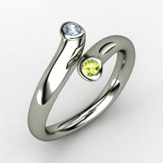 Two Together Ring- kids birthstones