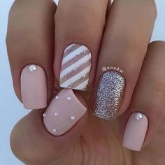 23 super cute nails for home. Looking for a new nail art? - 23 super cute nails for home. Looking for a new nail art? So n … – Nail Designs – - Super Cute Nails, Pretty Nails, Fun Nails, New Nail Art, Cute Nail Art, Best Acrylic Nails, Matte Nails, Oval Nails, Silver Nails