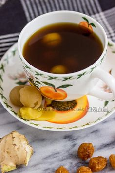 This simple Chinese ginger brown sugar drink can help calm your nerves and help you have a sound sleep.