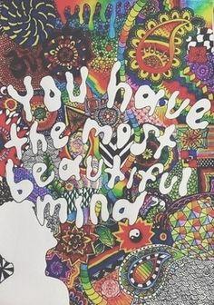 trippy happy beautiful boho peaceful colors peace bohemian yin yang hippy good vibes positivity positive energy tie dye beautiful mind