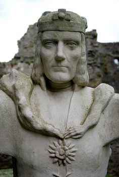 King Richard III at Middleham Castle