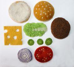 Cheeseburger and fries.via Etsy.